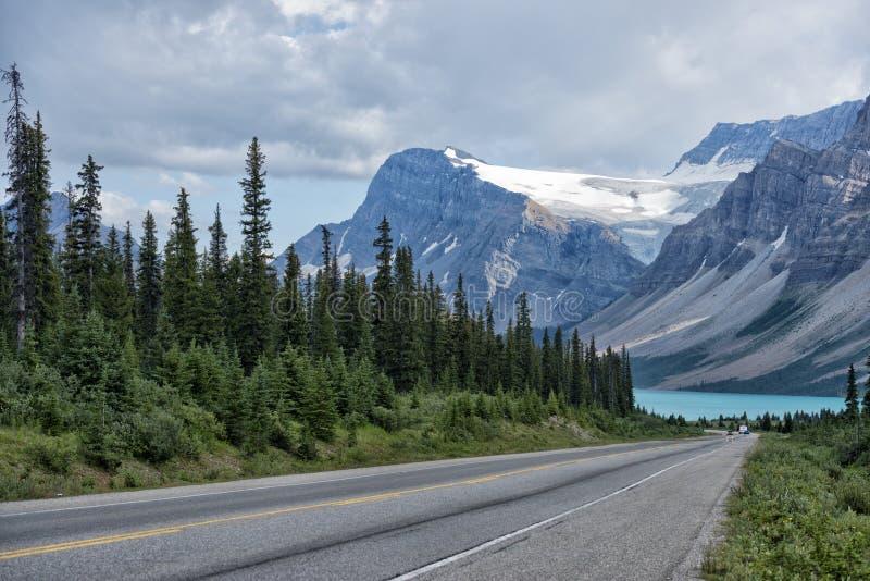 Kanada Skalistych gór panorama obraz royalty free