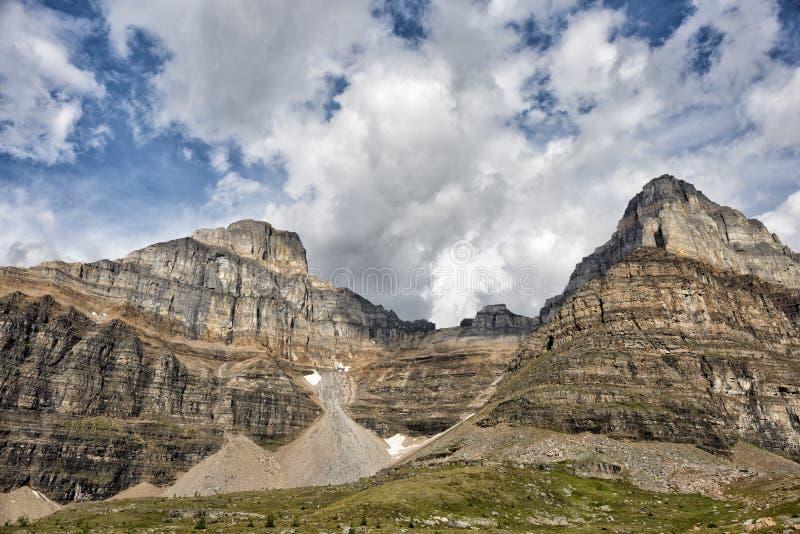 Kanada Skalistych gór panorama fotografia royalty free