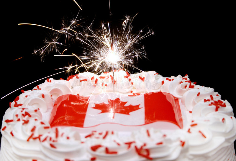 Kanada-Tagesfeiern stockbild