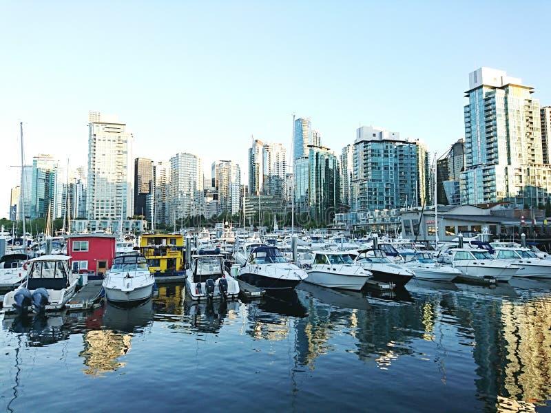 Kanada Vancouver zatoka obrazy stock