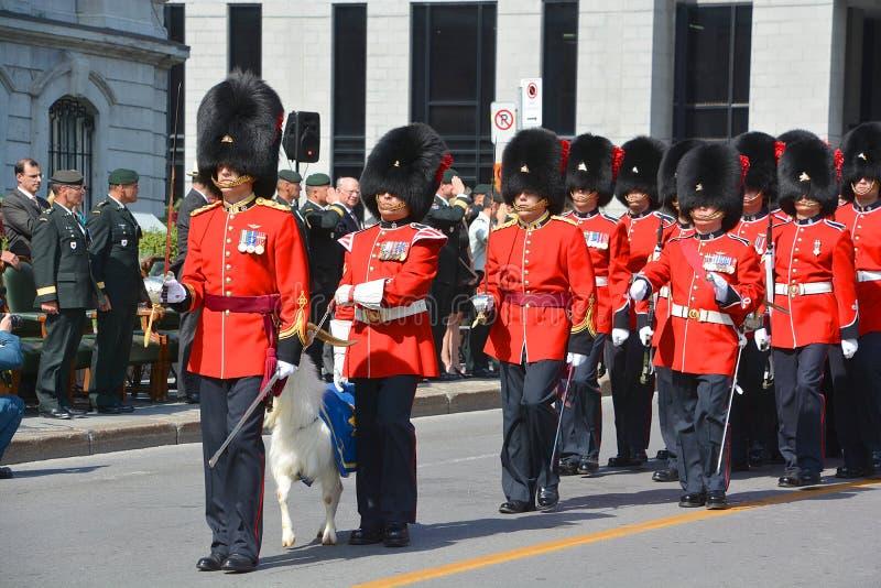 Kanadensisk armé royaltyfria foton