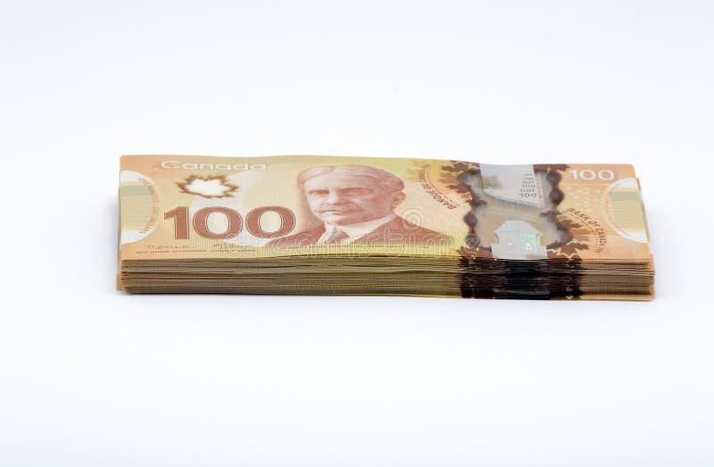 kanadensisk dollar royaltyfri bild