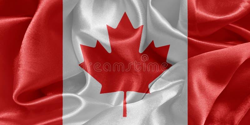 kanadensisk flagga arkivfoto
