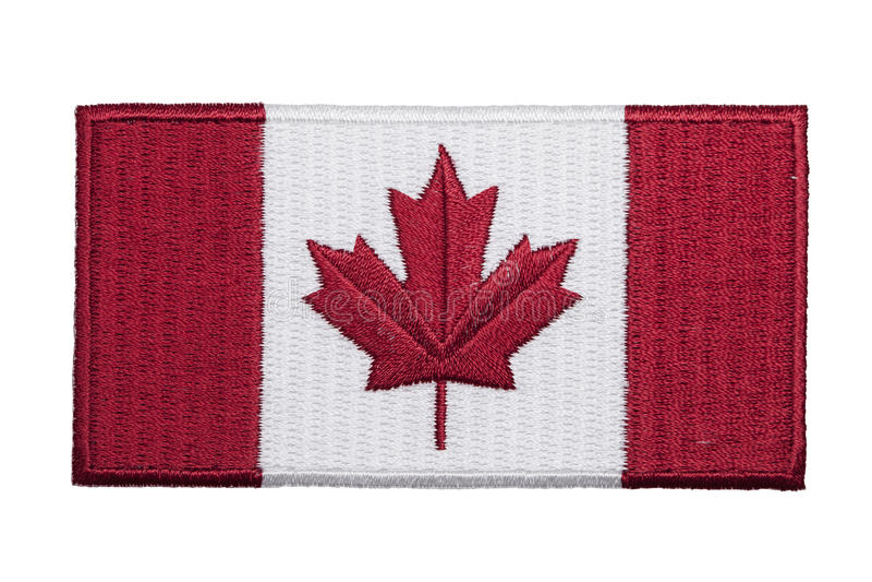 Kanadensisk lapp royaltyfria bilder