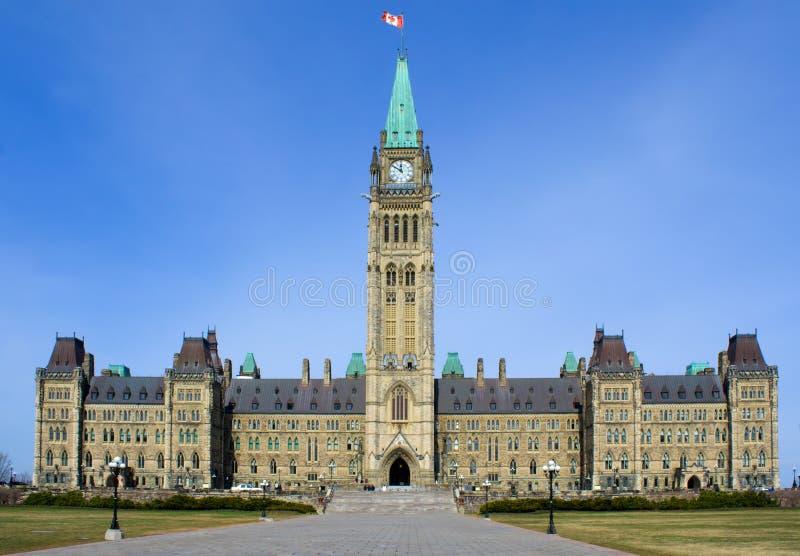 kanadensisk parlament royaltyfria bilder
