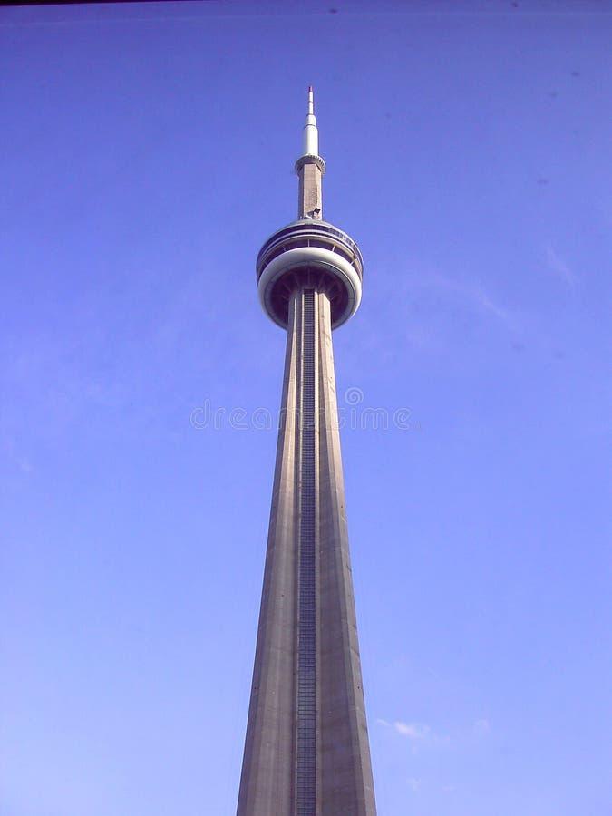 Kanadensiskt nationellt torn Toronto Kanada för CN-torn fotografering för bildbyråer