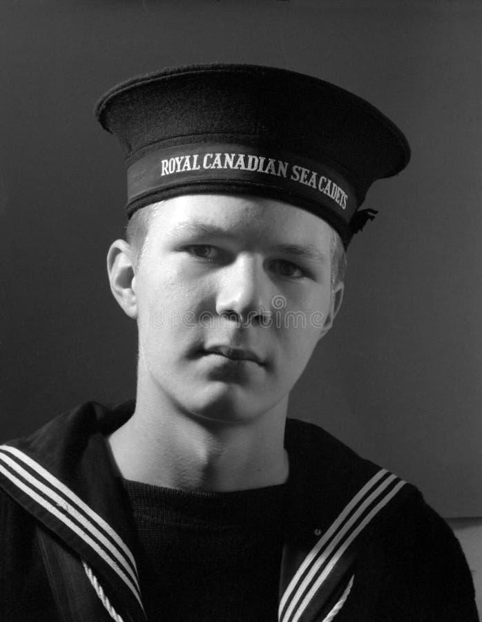 kanadensiskt ståendehav för cadet royaltyfria foton