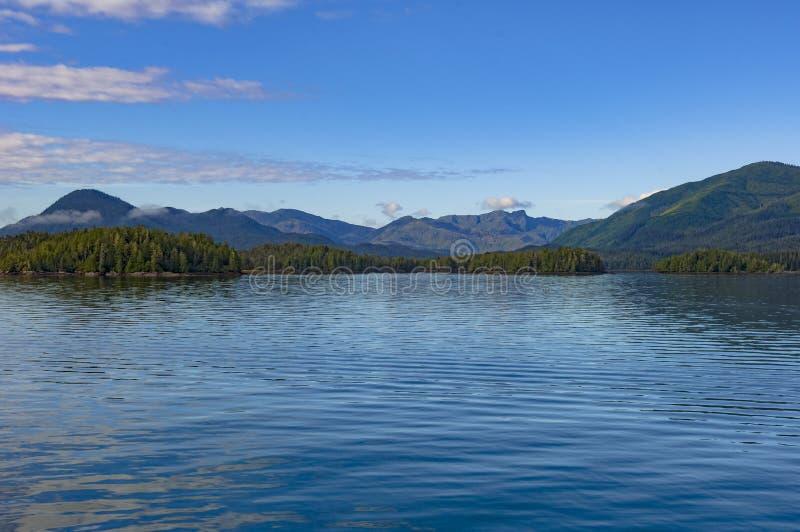 Kanadier-innerer Durchgang, Küstenweg des Britisch-Columbia, Kanada stockbild