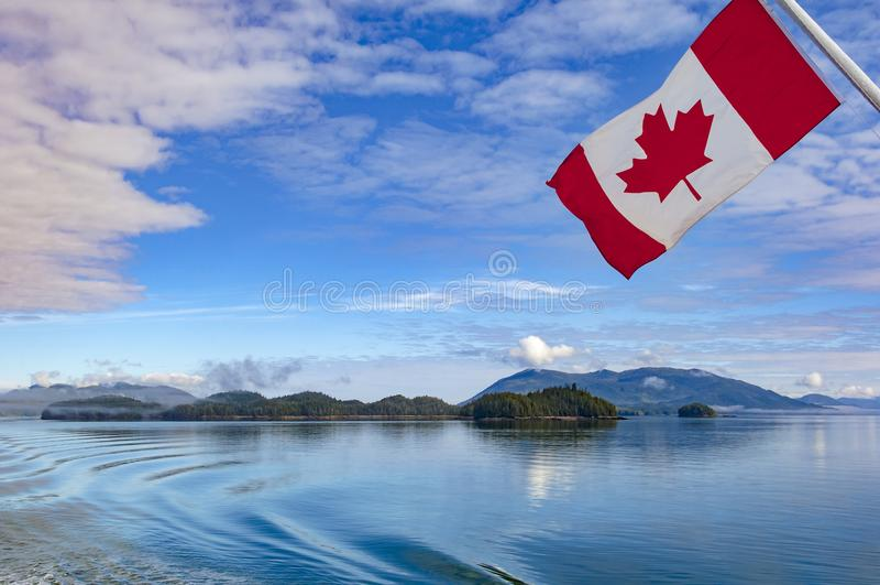 Kanadier-innerer Durchgang, Küstenweg des Britisch-Columbia, Kanada lizenzfreie stockbilder