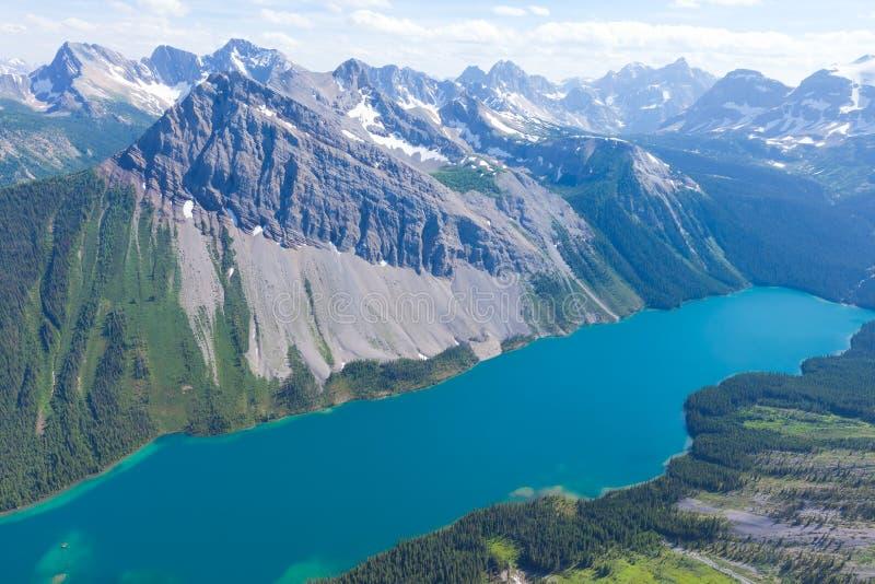 Kanadier Rocky Mountains stockbild
