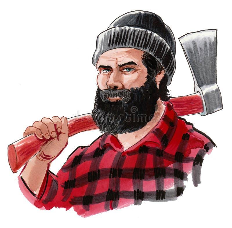Kanadischer Holzfäller