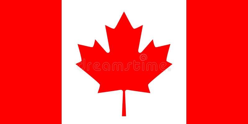 Kanadische Markierungsfahne