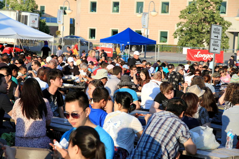 Kanadische Rippe Fest lizenzfreies stockbild