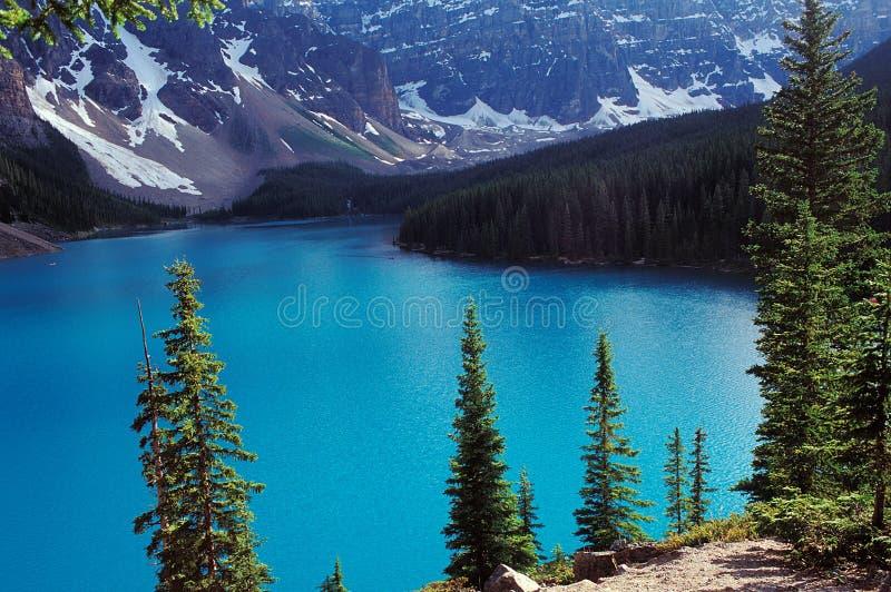 Kanadische Rockies - dayscene 2 stockfoto