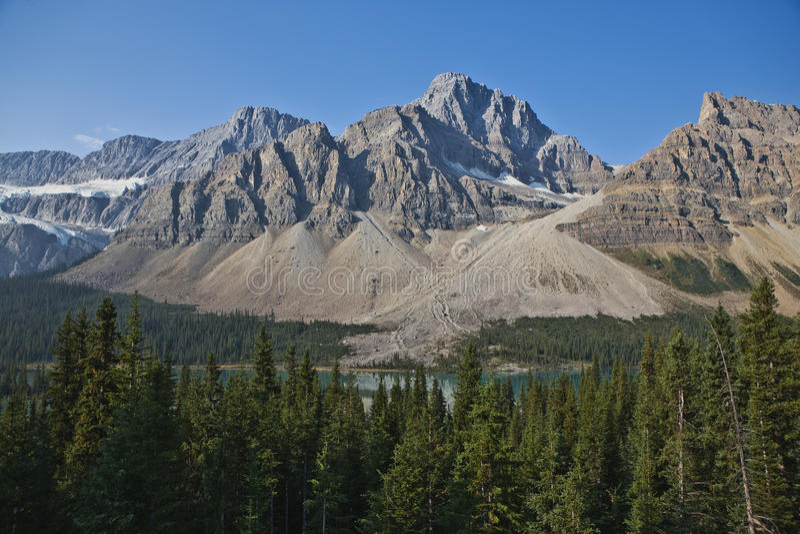 Kanadische Rockies - Jaspis-Nationalpark stockfoto