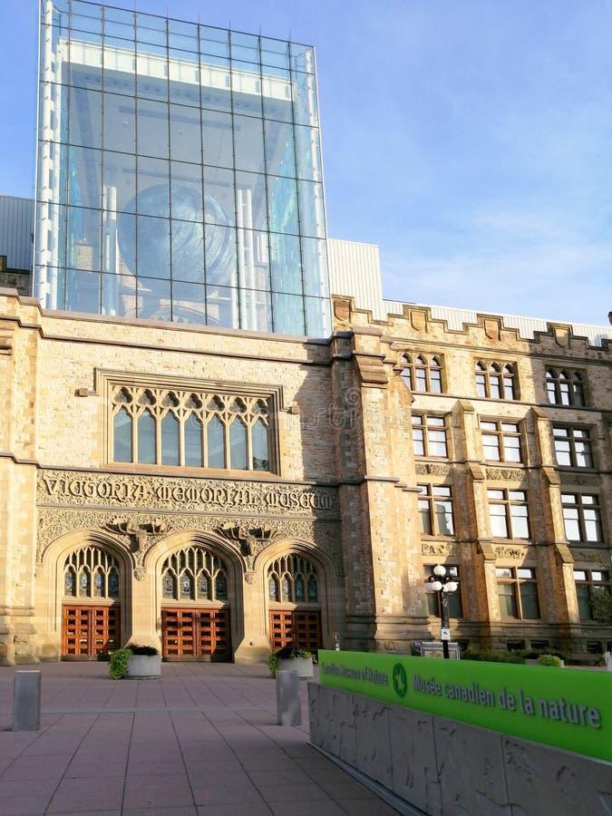Kanadisches Museum der Natur lizenzfreie stockfotografie