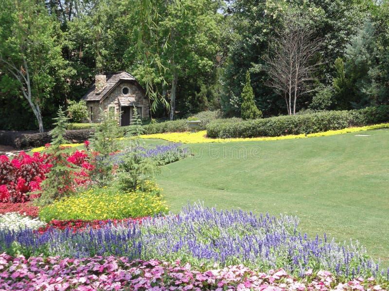 kanadyjczyka ogródu dom zdjęcie stock