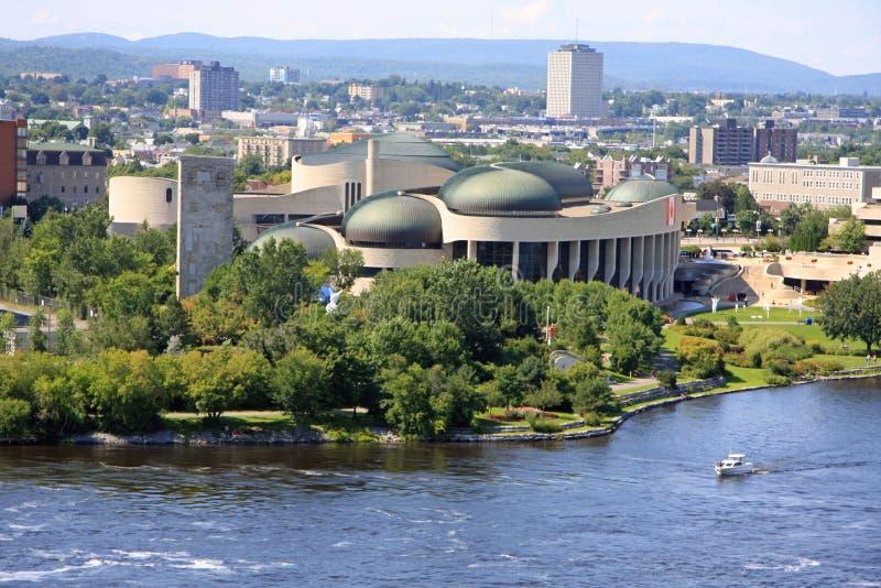 kanadyjski cywilizacji muzeum zdjęcie stock