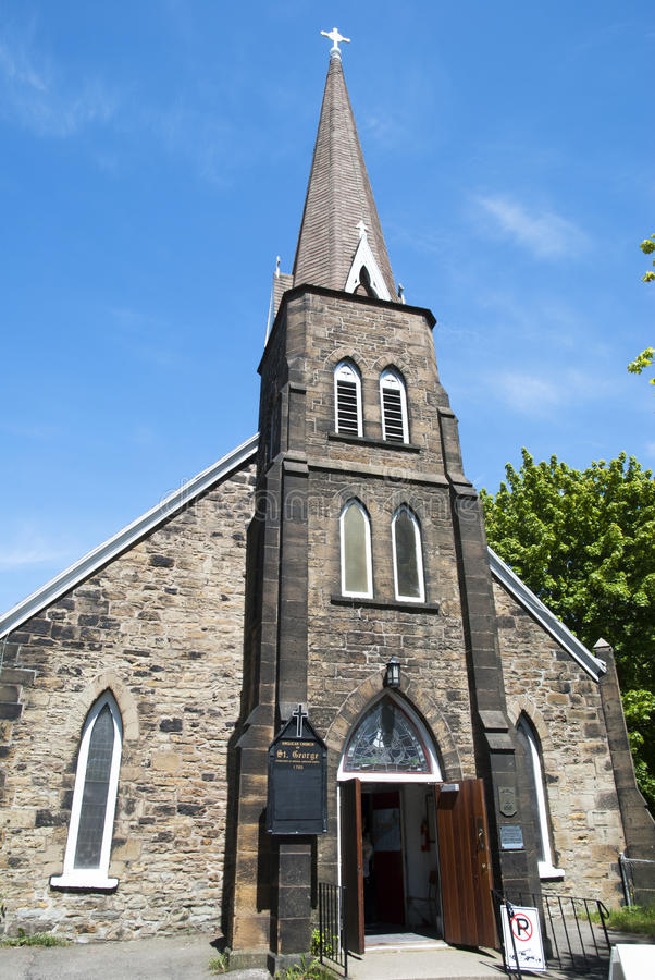 Kanadyjski kościół obrazy royalty free