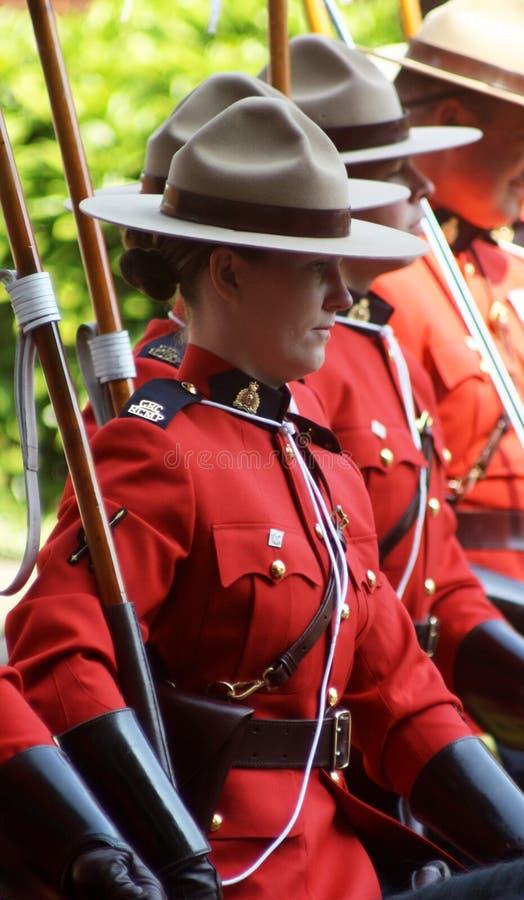 kanadyjski mountie zdjęcie stock