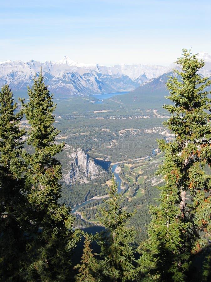 kanadyjskie góry skaliste obrazy royalty free