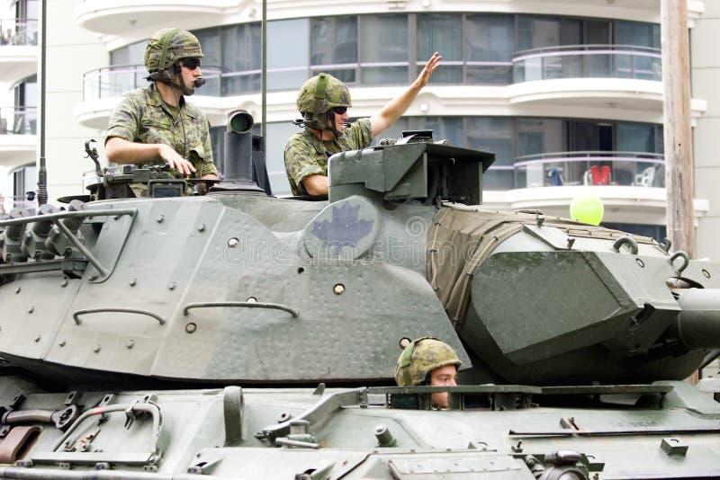 kanadyjskie siły zdjęcie royalty free