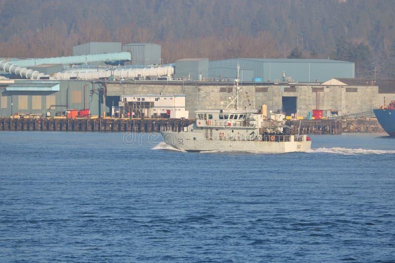 Kanadyjskiej marynarki wojennej Stażowy naczynie zdjęcia stock