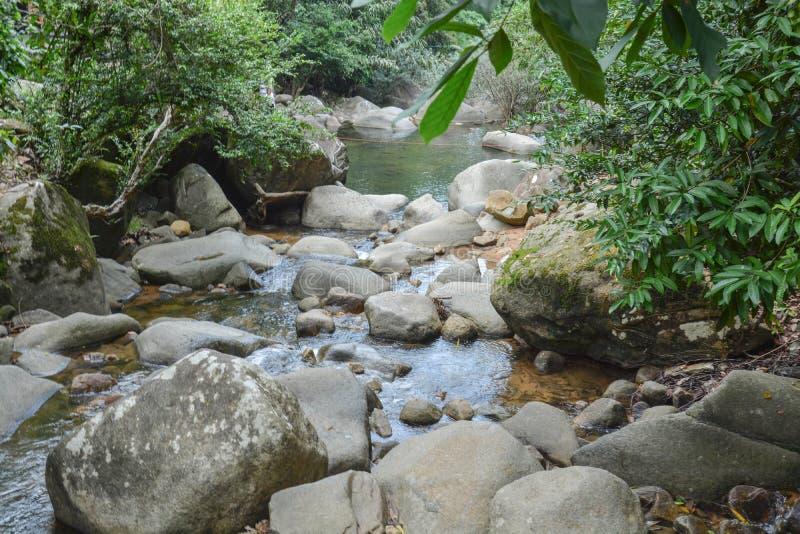 Kanal av vattenfallet arkivfoton