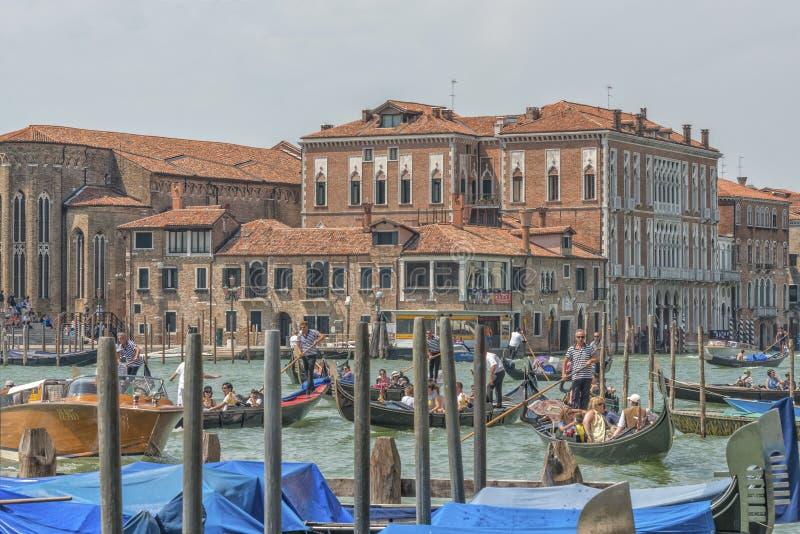 Kanal groß, Venedig, Italien stockbilder