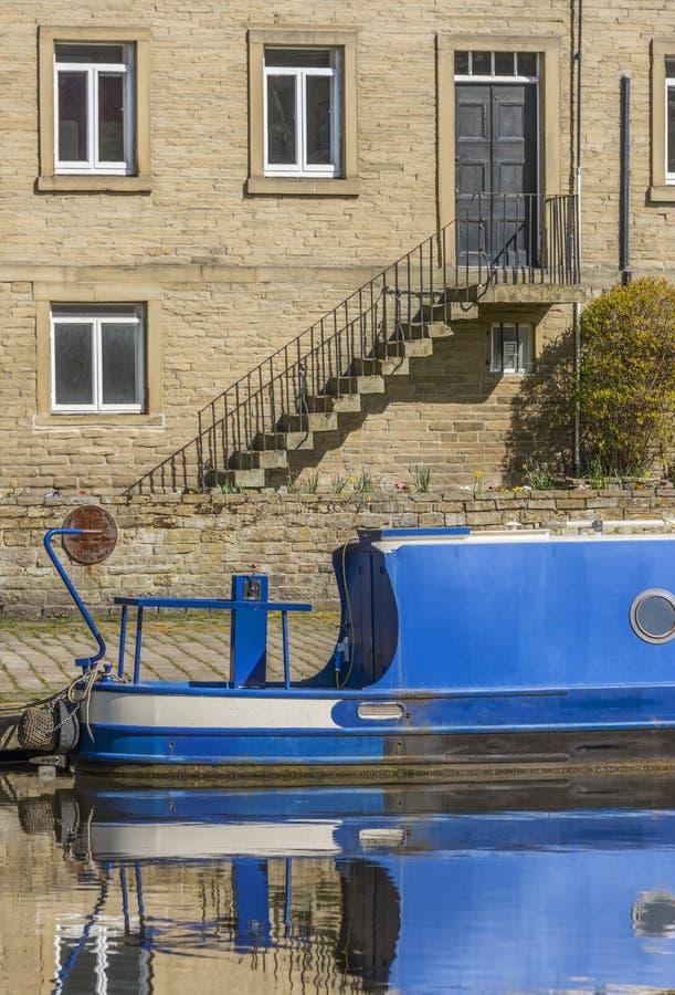 Kanal Narrowboat arkivbilder