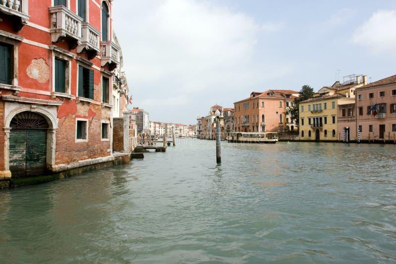 kanal storslagna italy venice arkivbilder