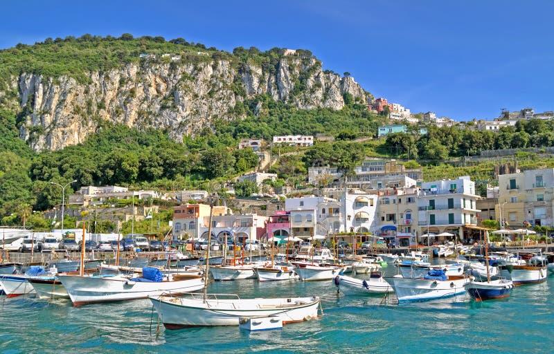 Kanal von Capri lizenzfreies stockbild