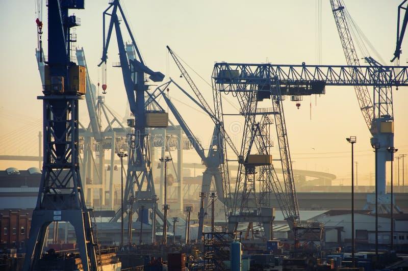 Kanal von Hamburg stockfotografie