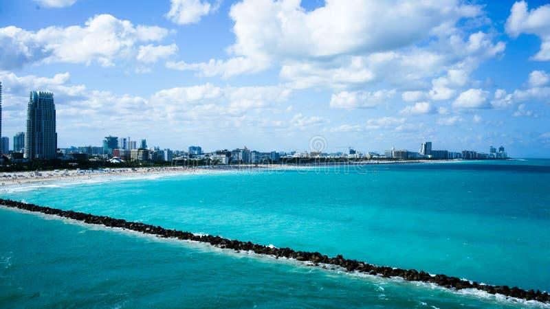 Kanal von Miami stockfotos