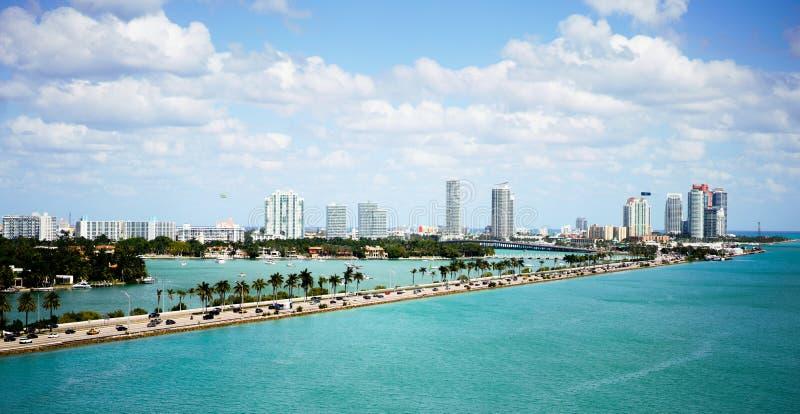 Kanal von Miami lizenzfreie stockfotos