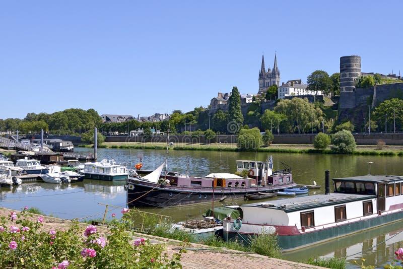 Kanal von verärgert in Frankreich stockbild