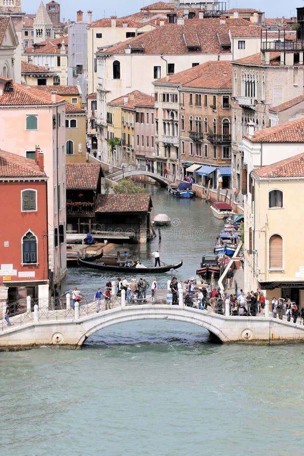 Kanalen, Venetië, Italië royalty-vrije stock afbeelding