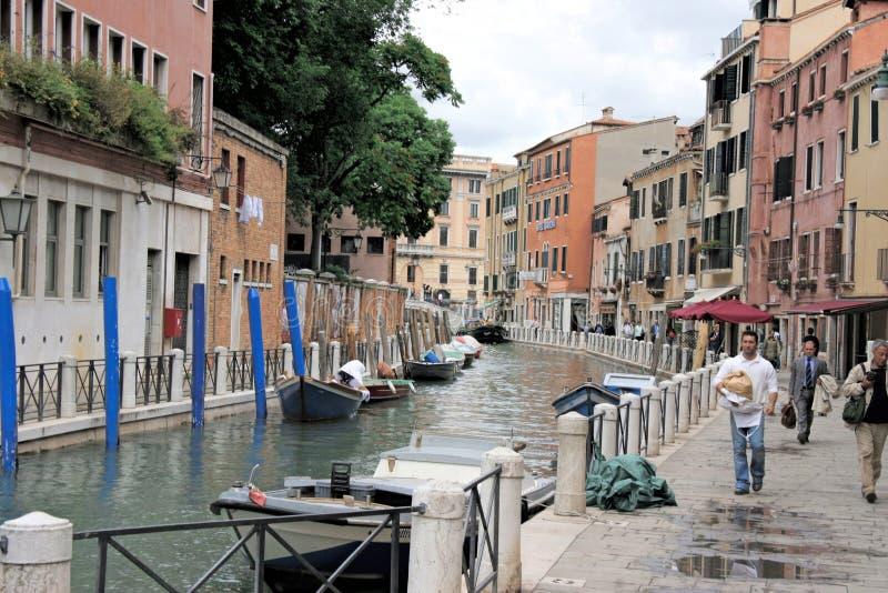 Kanalen, Venetië, Italië royalty-vrije stock fotografie