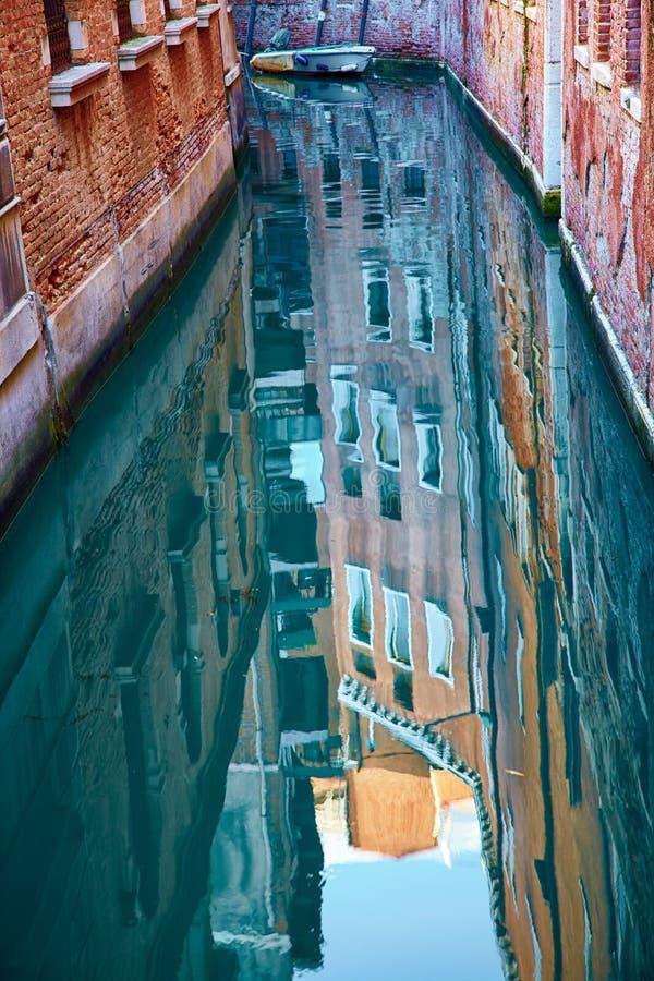 Kanaler av Venedig arkivbilder