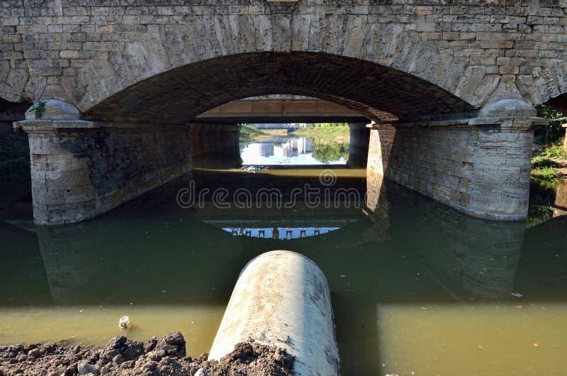 Kanalisation lizenzfreie stockbilder