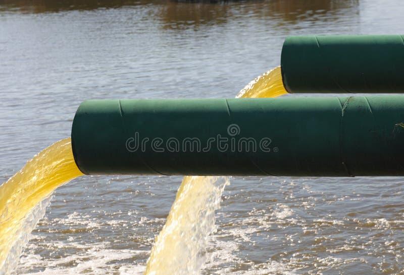 Kanalizacyjna jałowa drymba fotografia stock