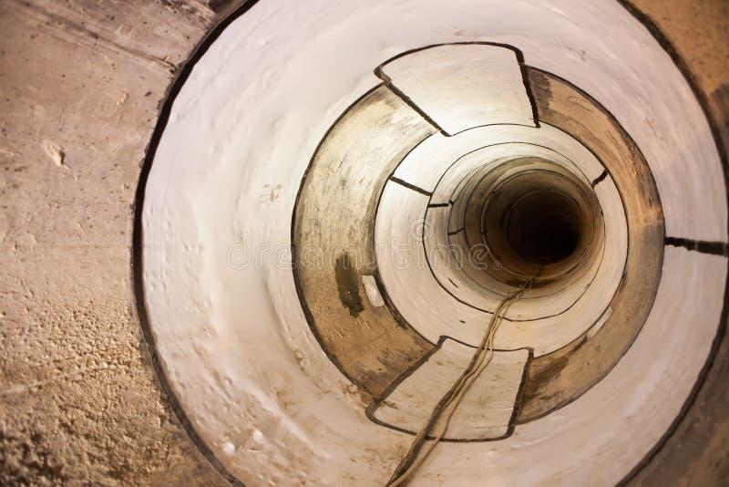 Kanalizacyjna poborca drymba zdjęcie stock