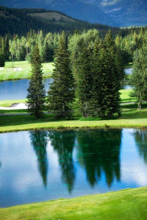 Kananaskis Golf Course royalty free stock photo