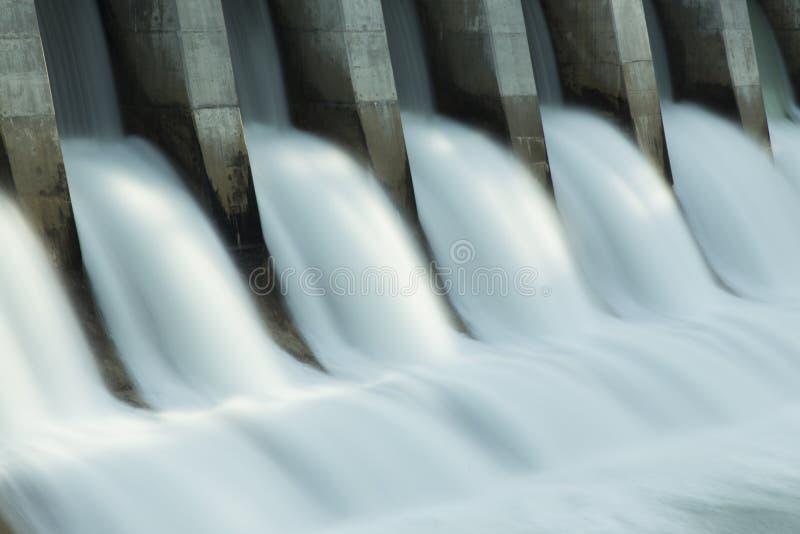 Kananaskis Hydro Elektrische Dam c1 stock fotografie