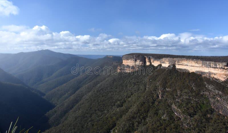 Kanangramuren in Nationaal Park kanangra-Boyd stock fotografie