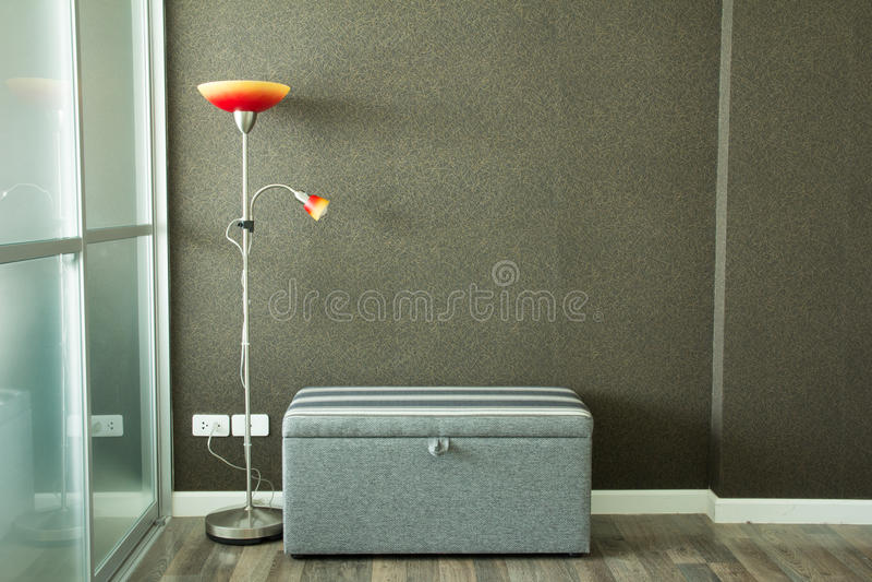 kanapa graniasty obiadowy wewnętrzny żywy izbowy furgon obrazy stock