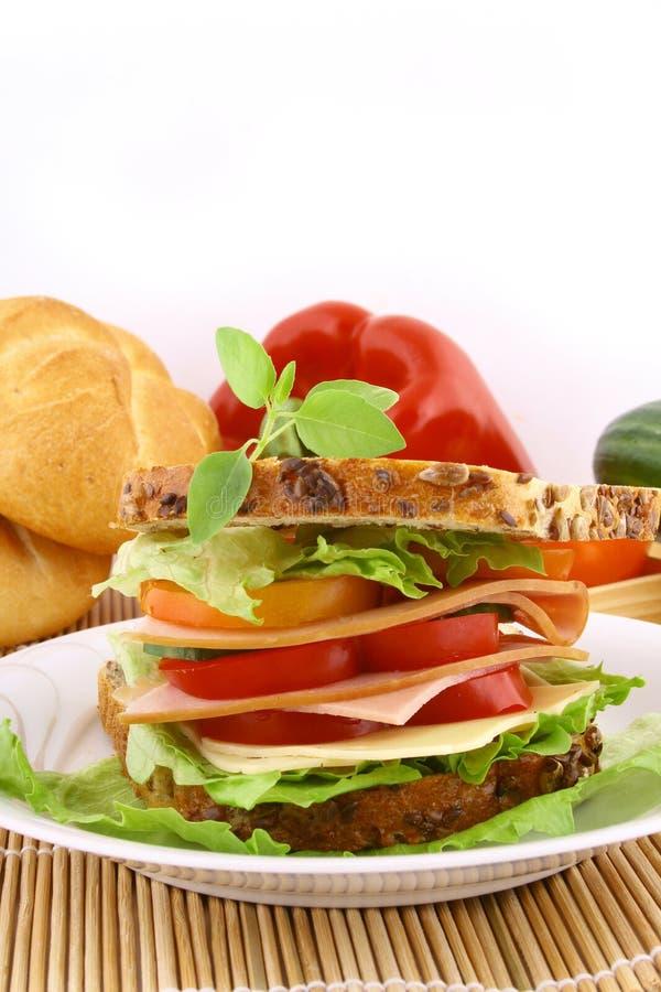 kanapkę? zdjęcie stock