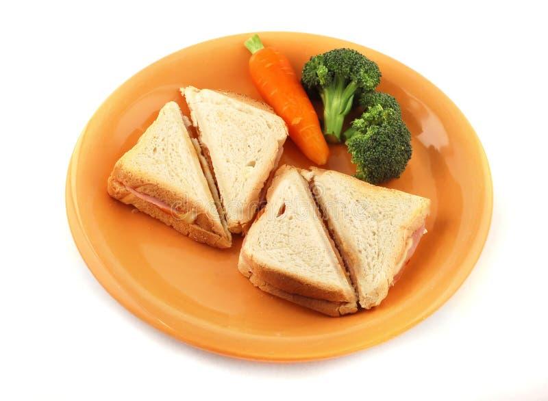 kanapka zdrowa. zdjęcia royalty free