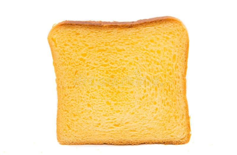 Kanapki chlebowy obruszenie odizolowywający obrazy stock