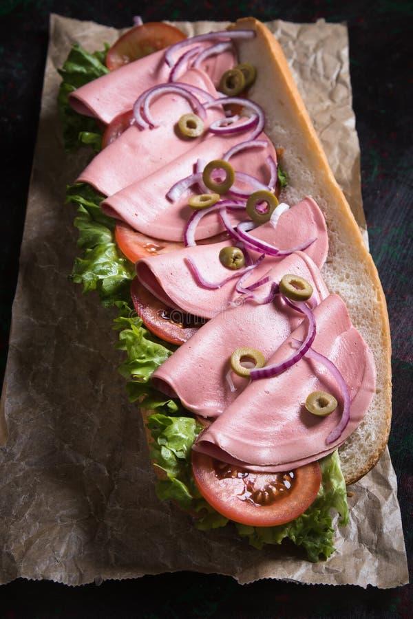 kanapki włoska łódź podwodna zdjęcia stock